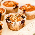Blueberry and Carob Muffins | Carob Recipes, Australian Carobs