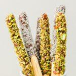 Pistachio and Coconut Carob Sticks Recipe | Carob Recipes, Australian Carobs