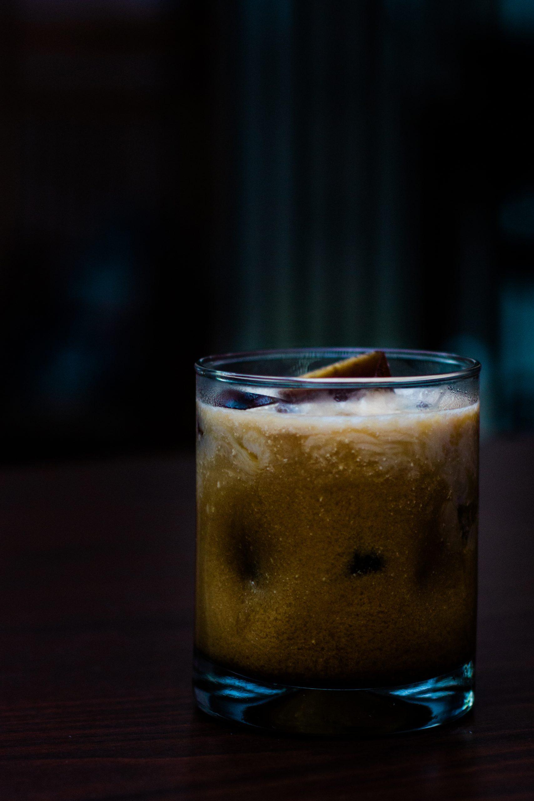 Carob White, Carob White Russian Cocktail